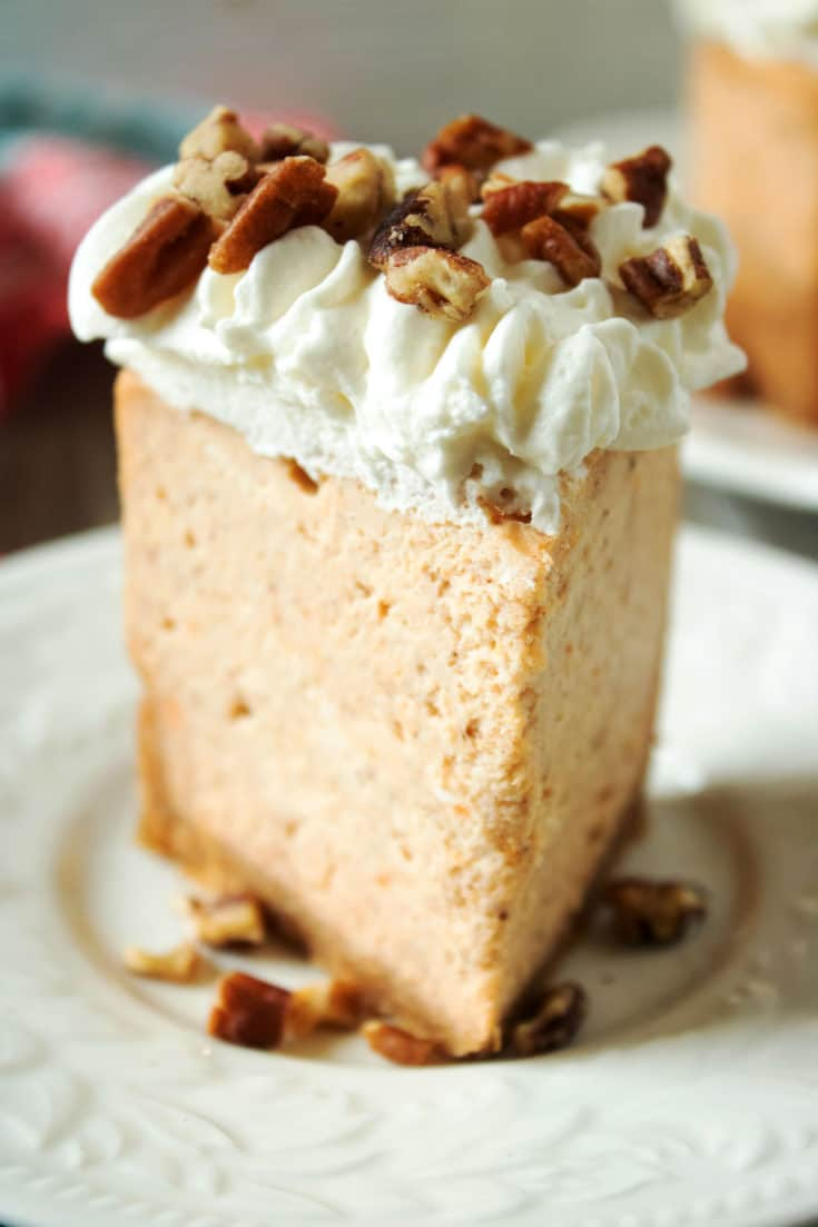 Instant Pot Sweet Potatoes Cheesecake Recipe
