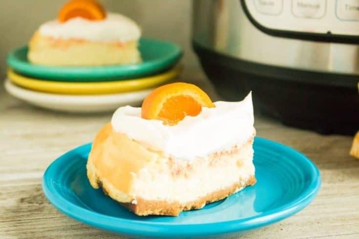 orange creamsicle cheesecake