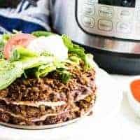 Instant Pot Lasagna Fiesta Style