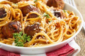 Instant Pot Spaghetti and Meatballs Recipe