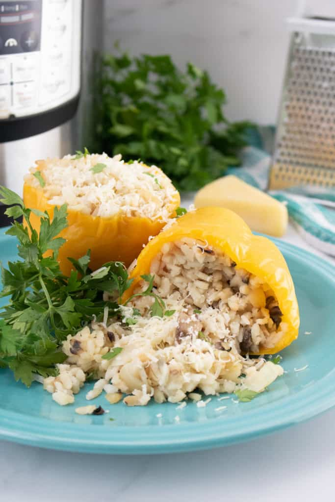Instant Pot Stuffed Bell Peppers Recipe