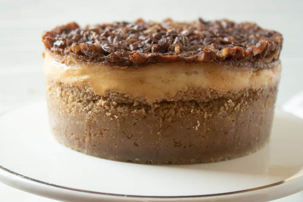 Instant Pot Pecan Cheesecake