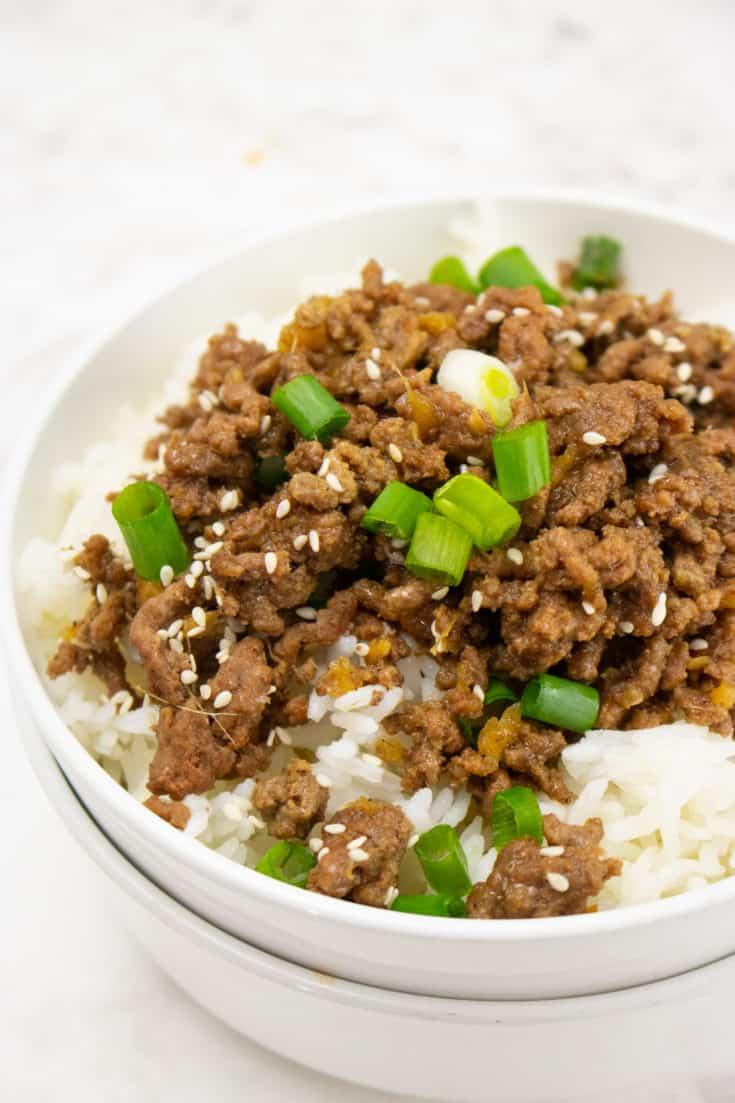Instant Pot Korean Ground Beef
