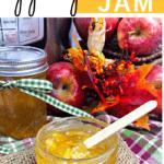 apple pie jam in jars
