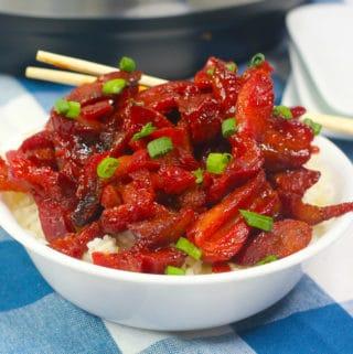 Instant Pot Chinese BBQ Pork Recipe