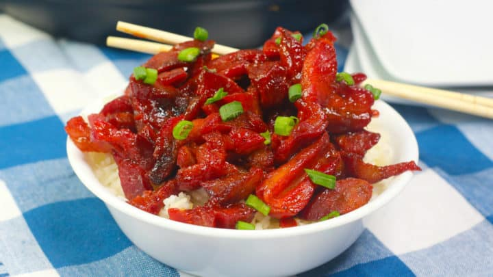 Instant Pot Chinese BBQ Pork Recipe