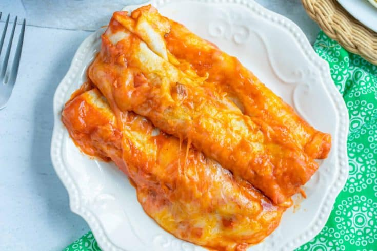 Easy Weeknight Instant Pot Beef Enchiladas