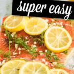 salmon with lemon and garlic