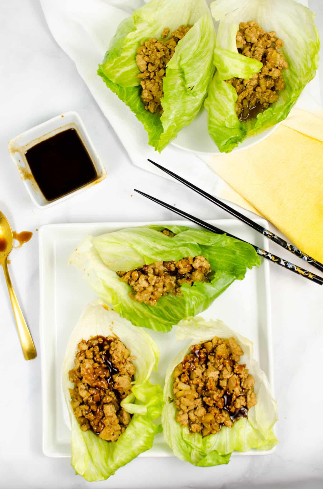 instant pot lettuce wraps