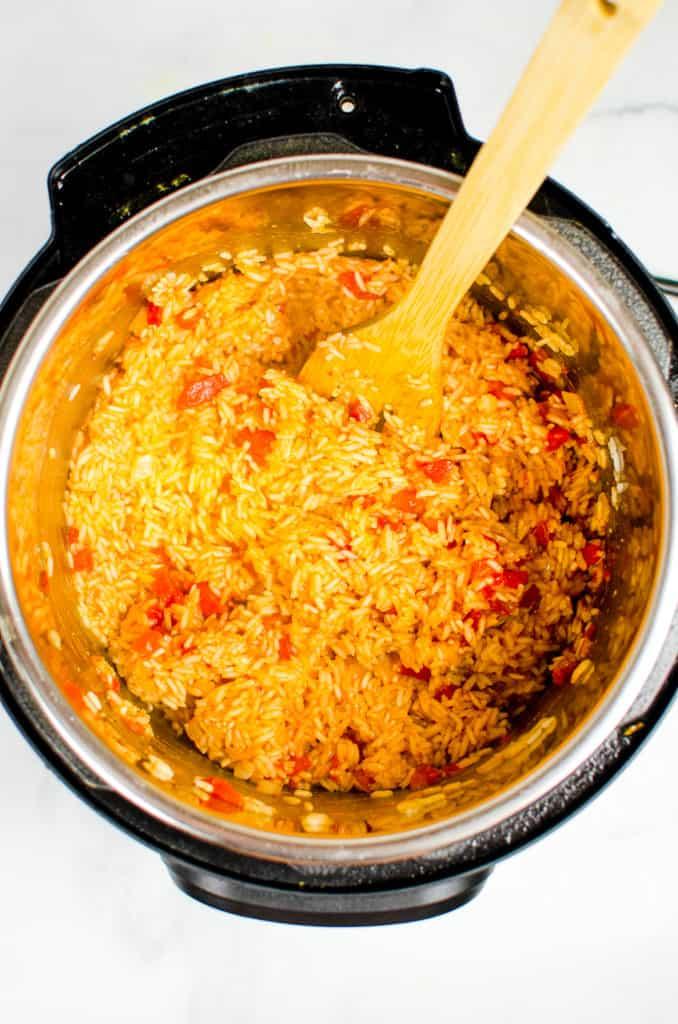 instant pot rice recipe