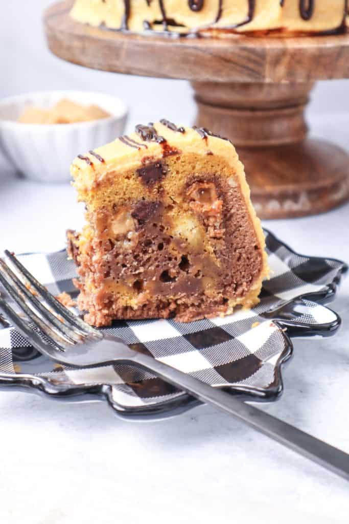 Pumpkin Cake with Caramel