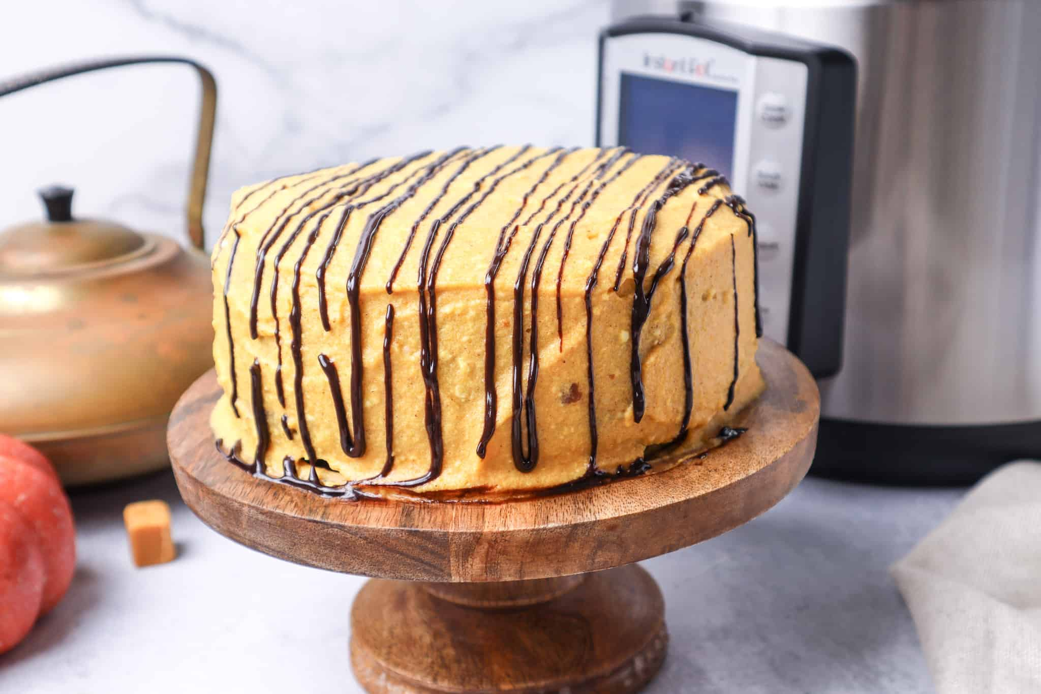 pumpkin cake recipe instant pot