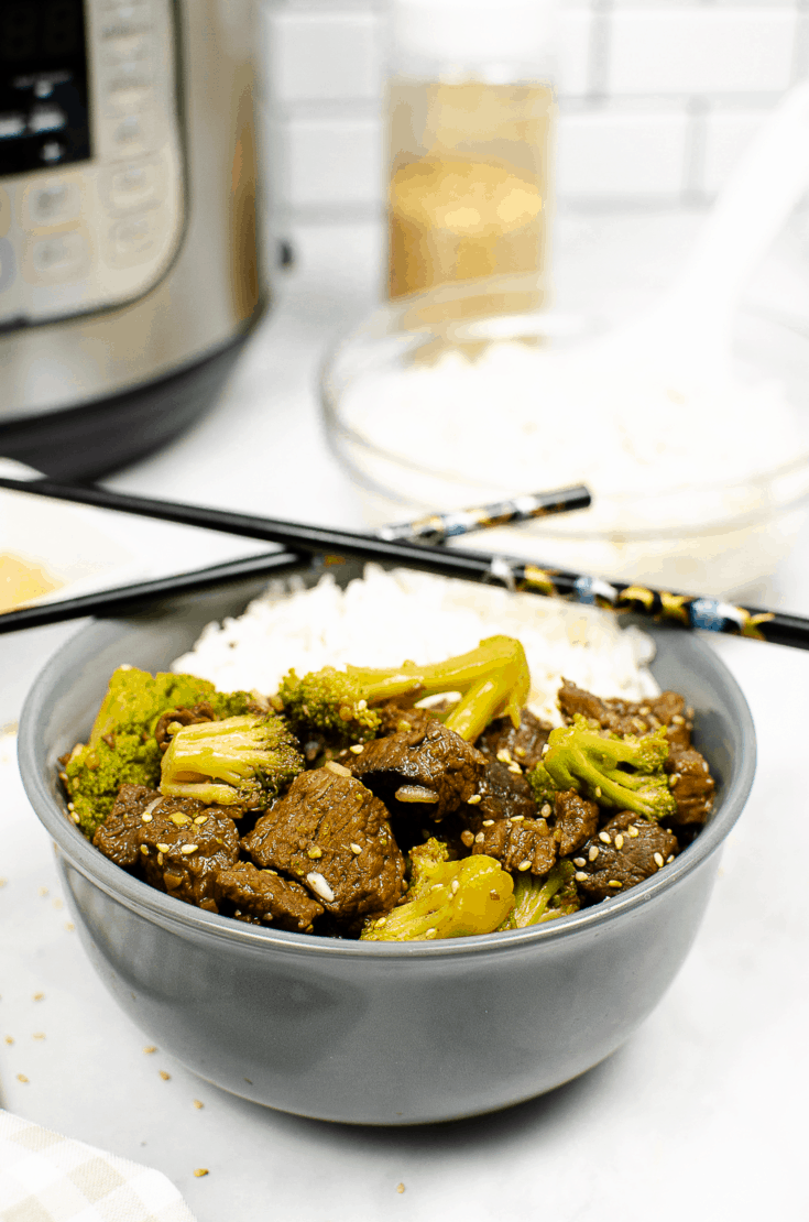 Beef and Broccoli Instant Pot Recipe