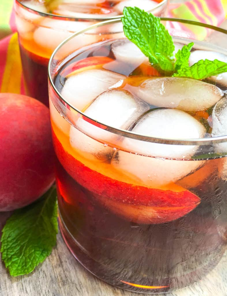peached iced tea