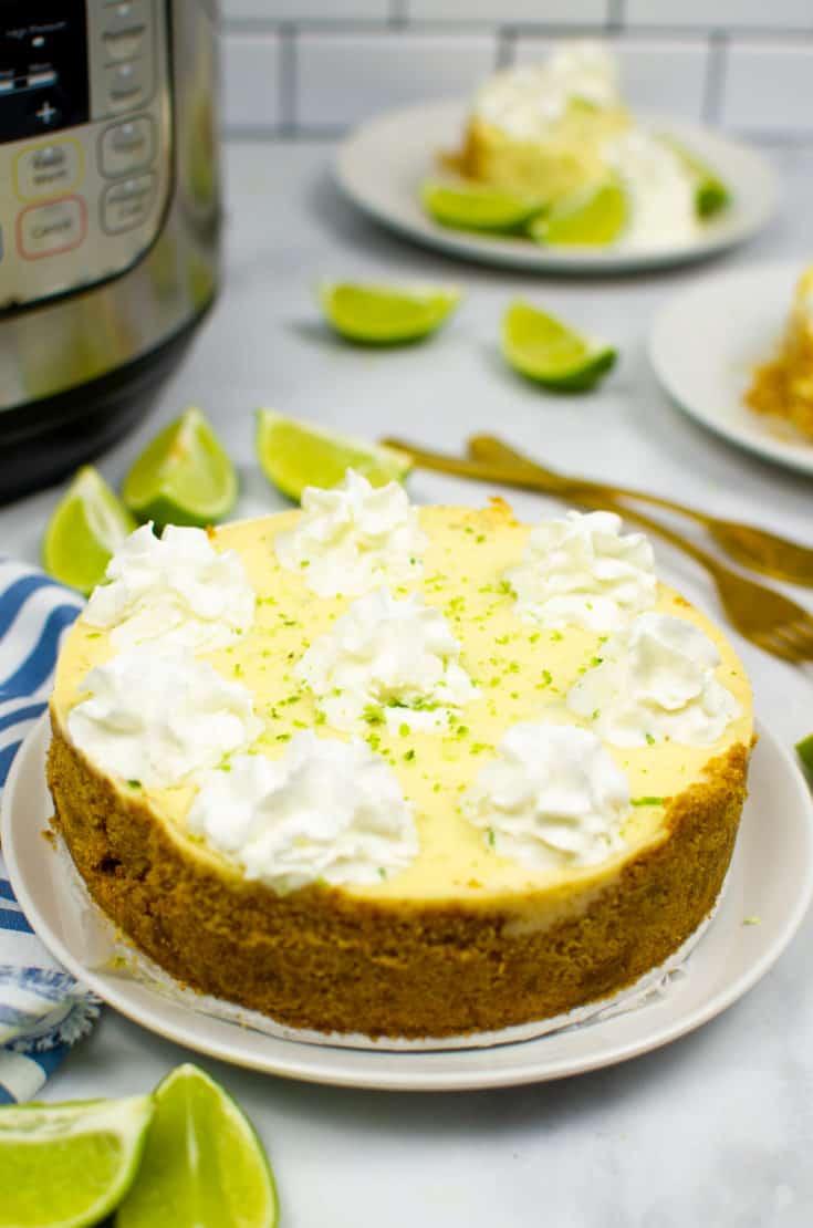 Instant Pot Key Lime Pie