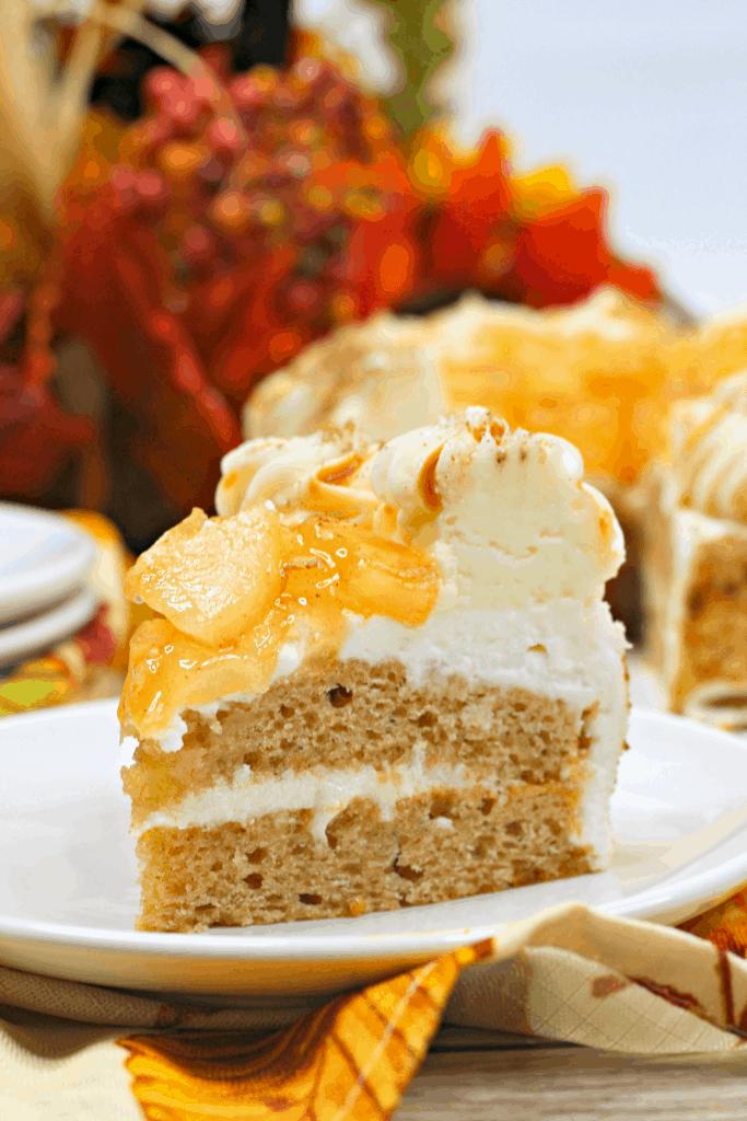 IP Apple spice layer cake