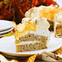 IP Apple spice layer cake