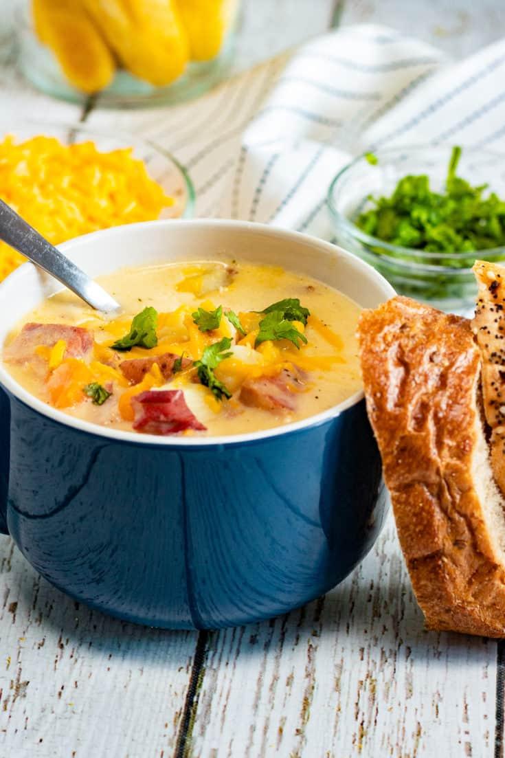 Ham and Potato Soup Recipe