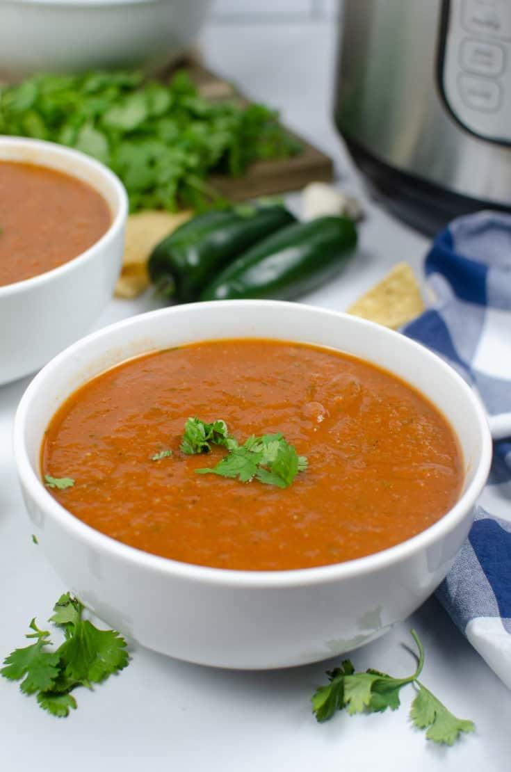 Homemade Salsa Spicy or Medium Recipe