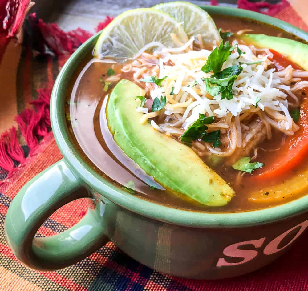 fajita soup recipe