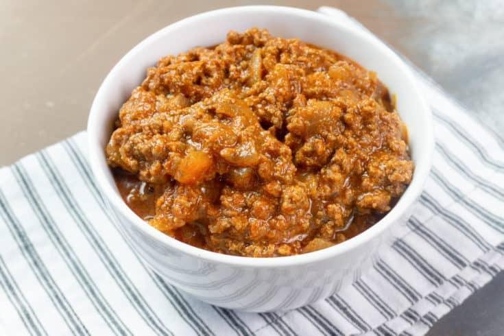 Chili Con Carne Instant Pot Recipe
