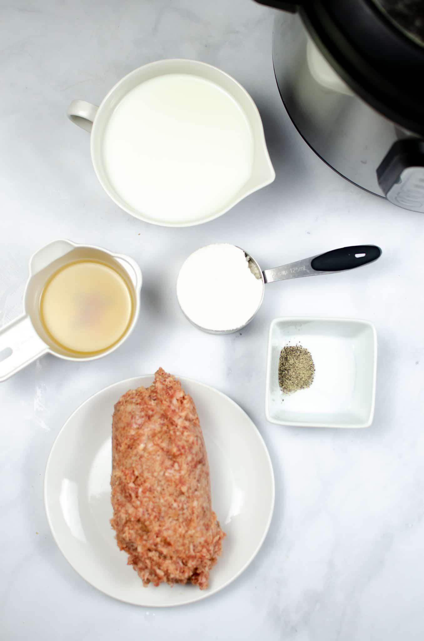 instant pot sausage gravy ingredients in ingredient dishes