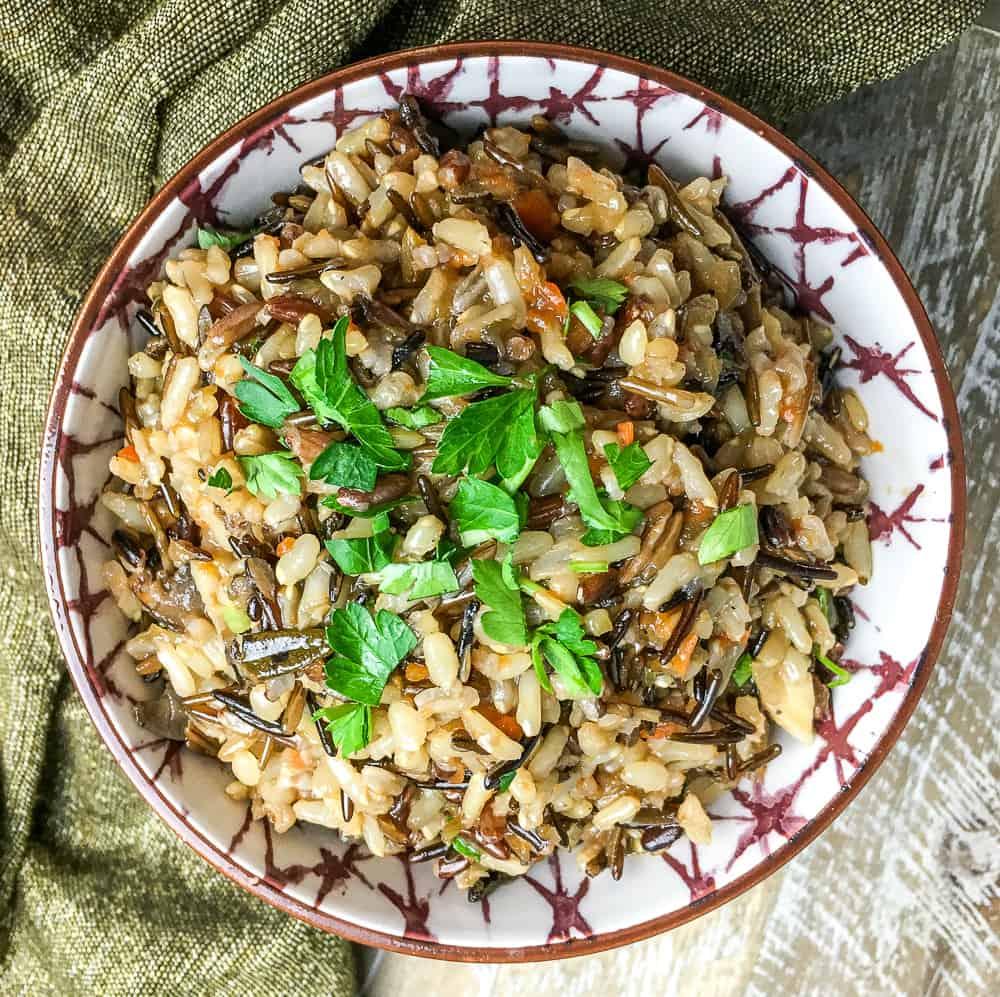 Instant Pot wild rice recipe