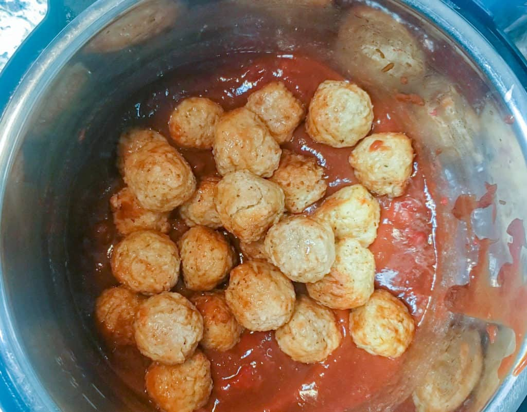 Meatballs in instant pot