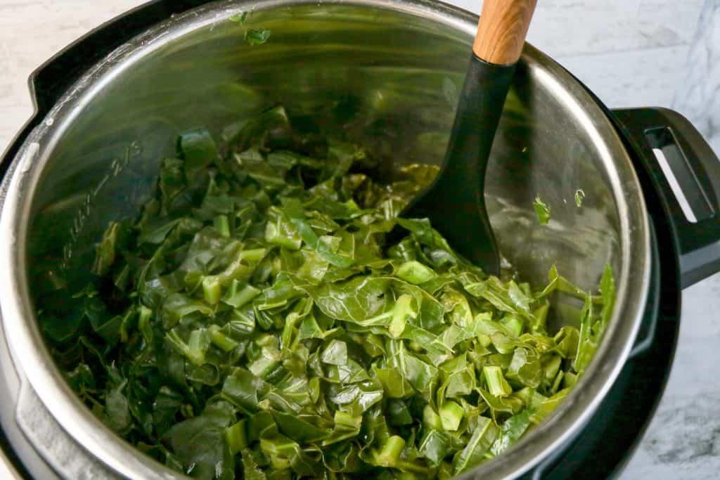 collard greens instant pot
