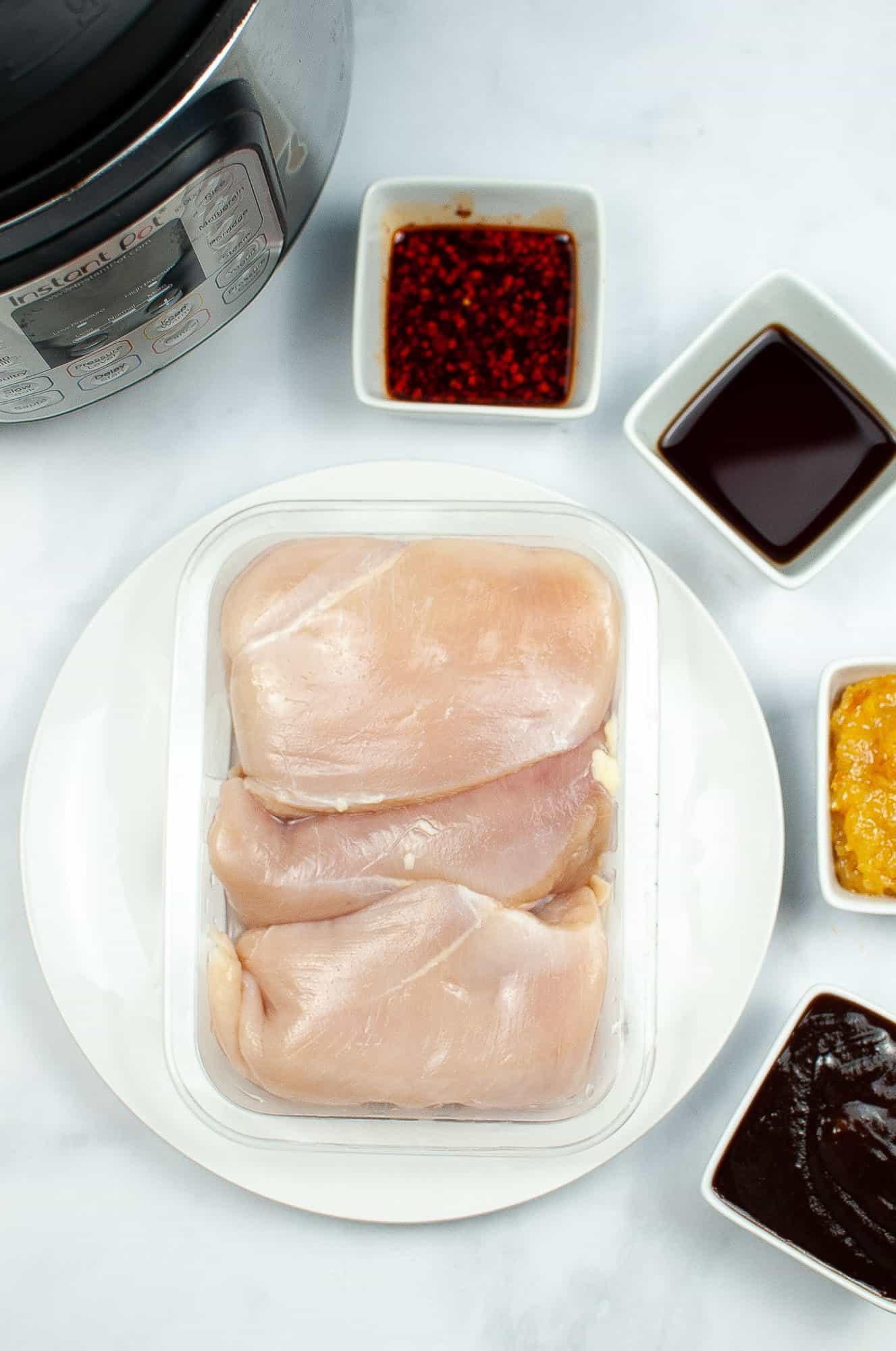 instant pot orange chicken ingredients