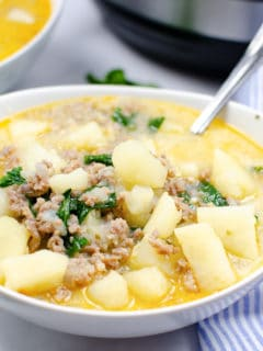 easy zuppa toscana instant pot soup recipe