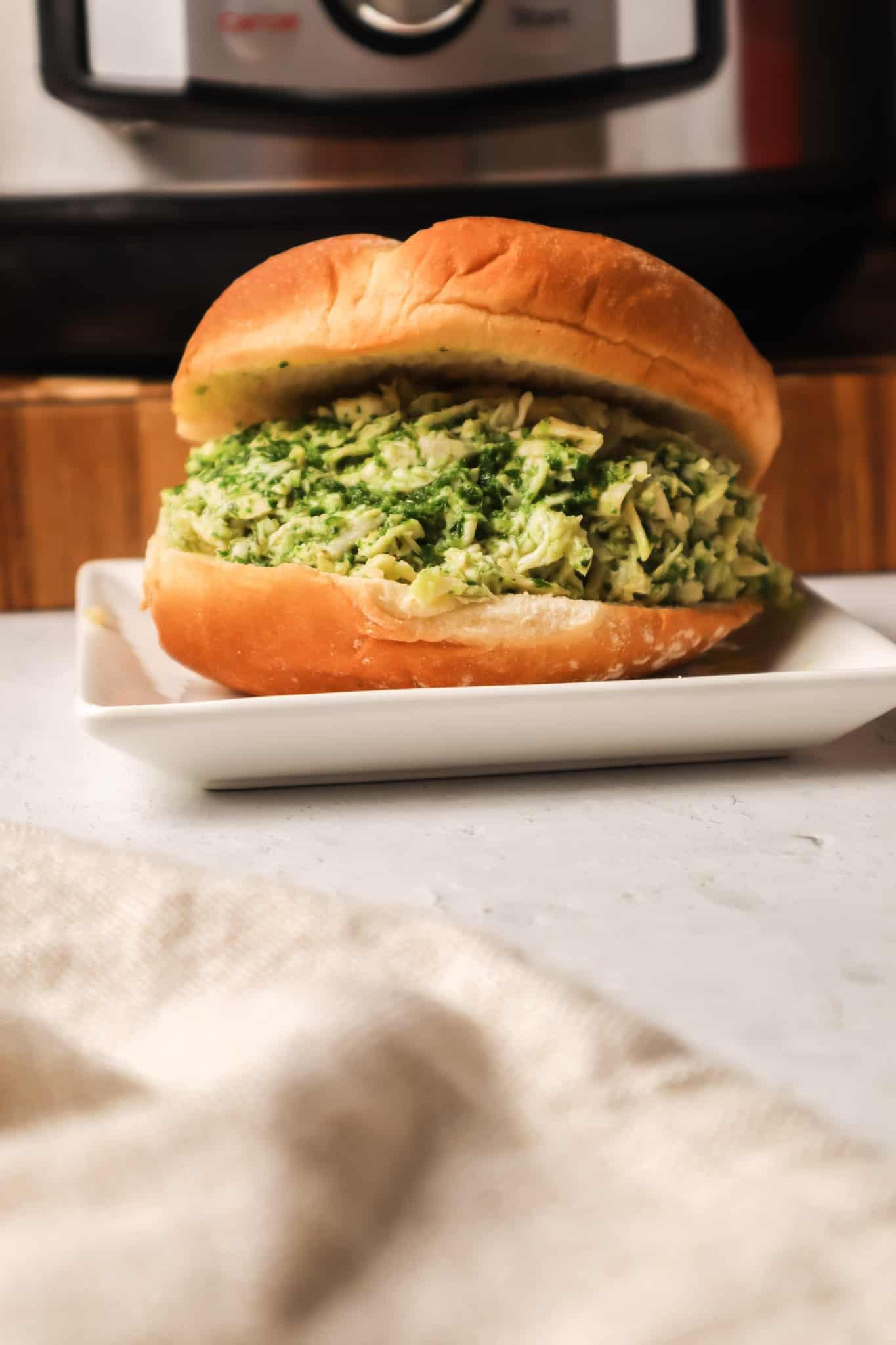 chicken chimichurri sandwich