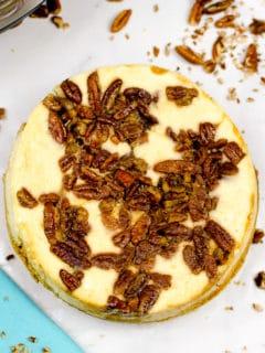 instant pot pecan cheesecake