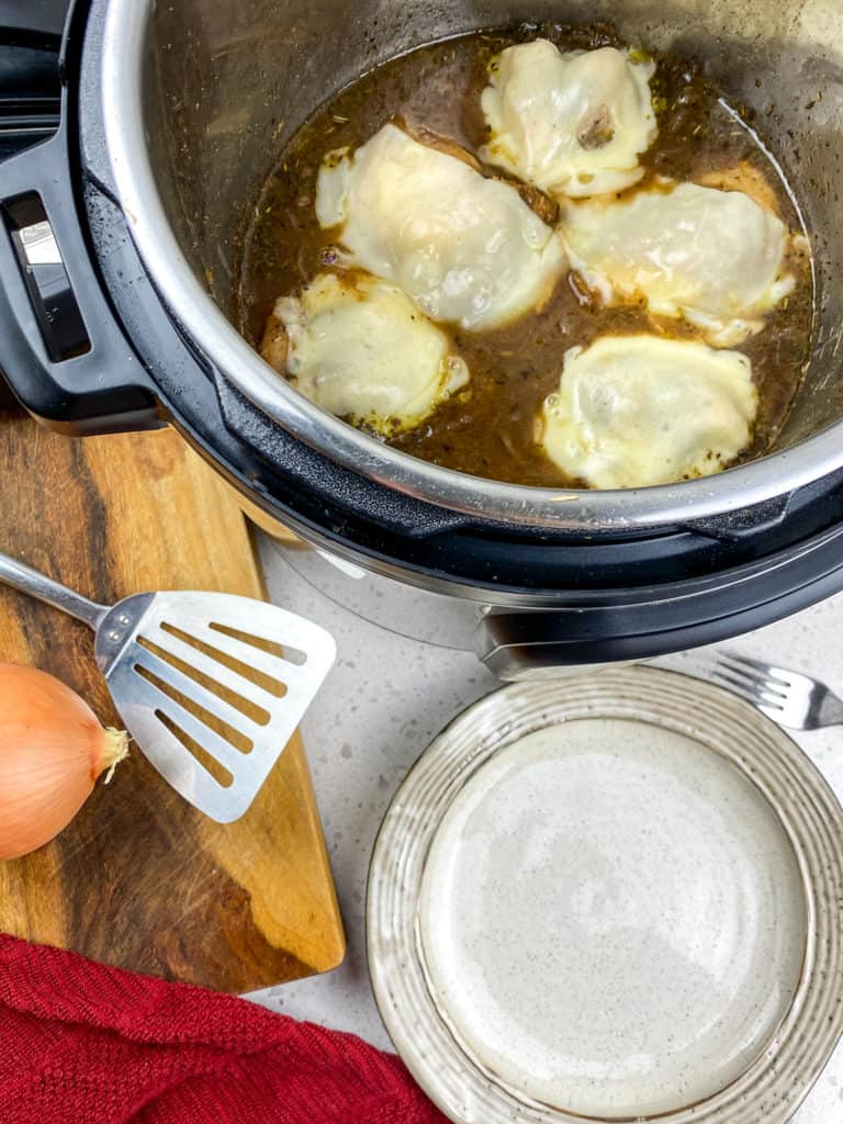 french onion chicken in instant pot