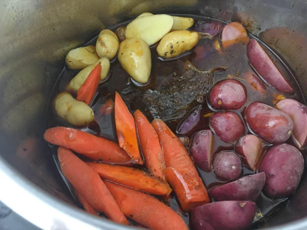 root vegetables in ninja foodi