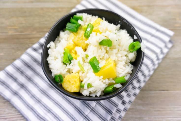 jasmine rice recipe in bowl