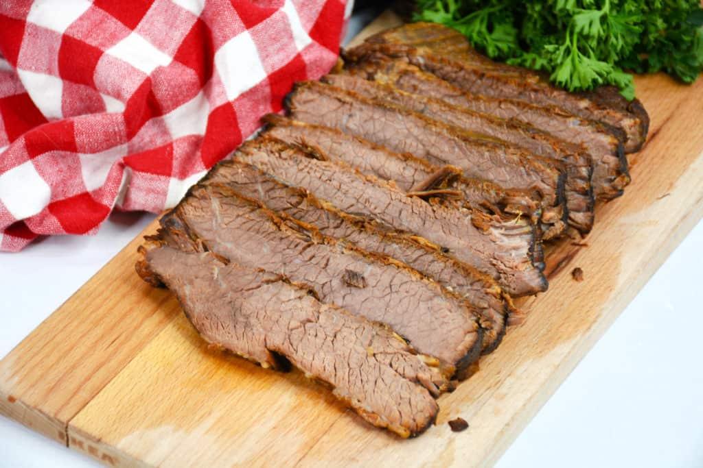 meat on cutting board