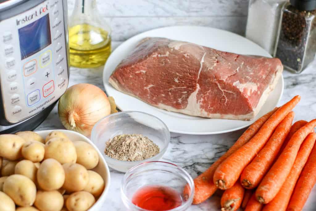 instant pot chuck roast ingredients