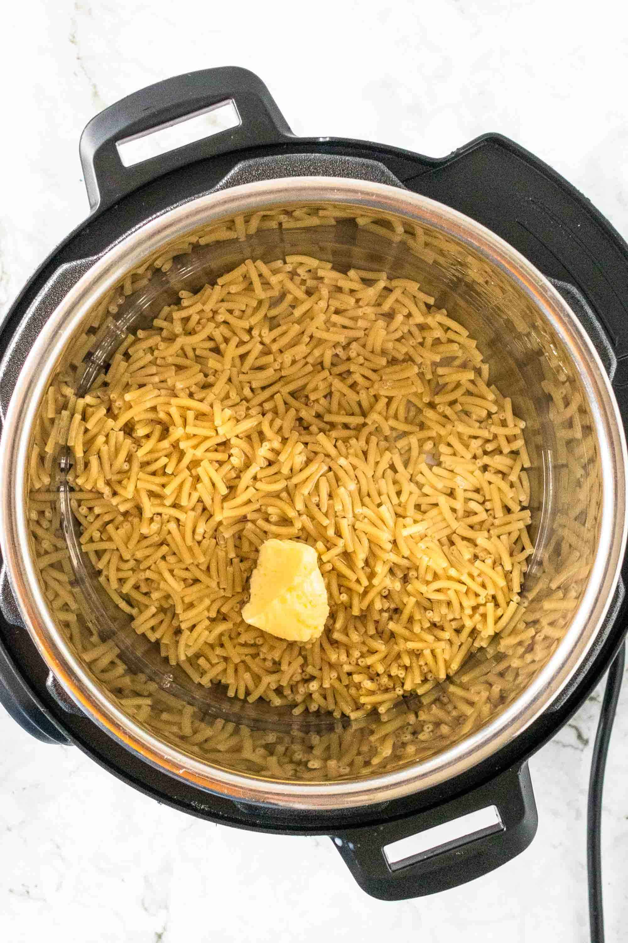 ingredients for mac and cheese in instant pot