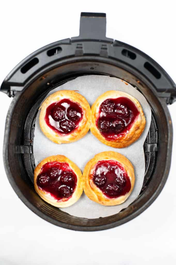 danishes cooked in air fryer