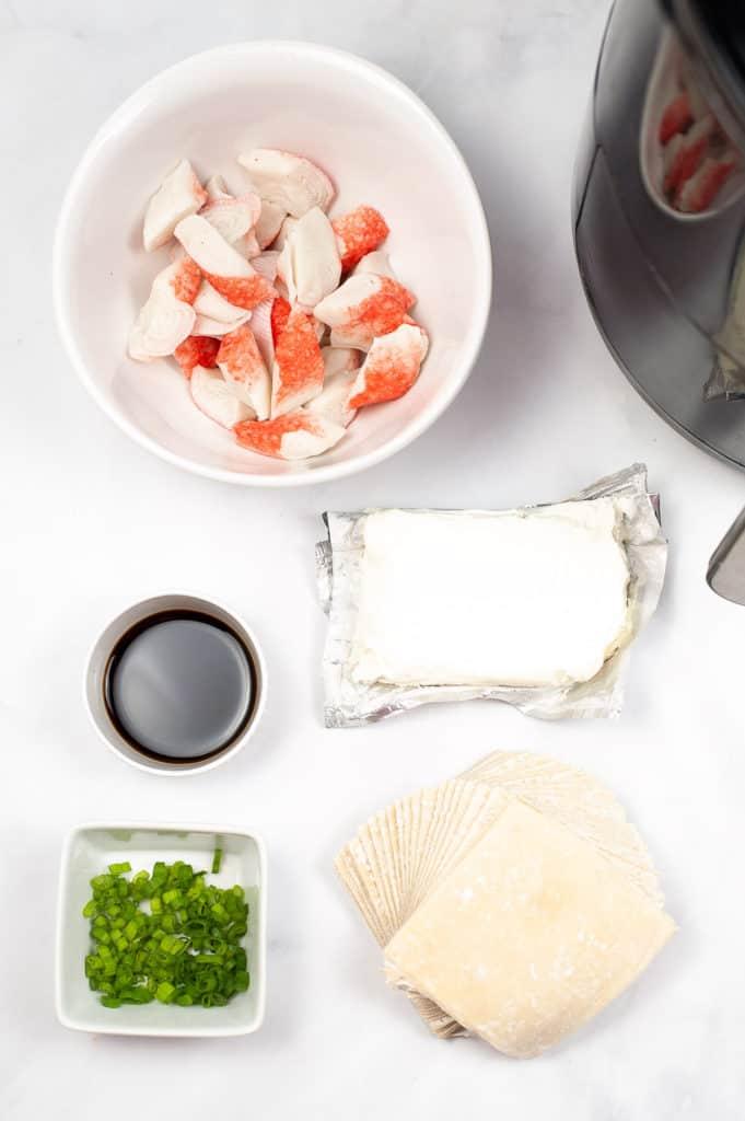 ingredients for crab rangoon