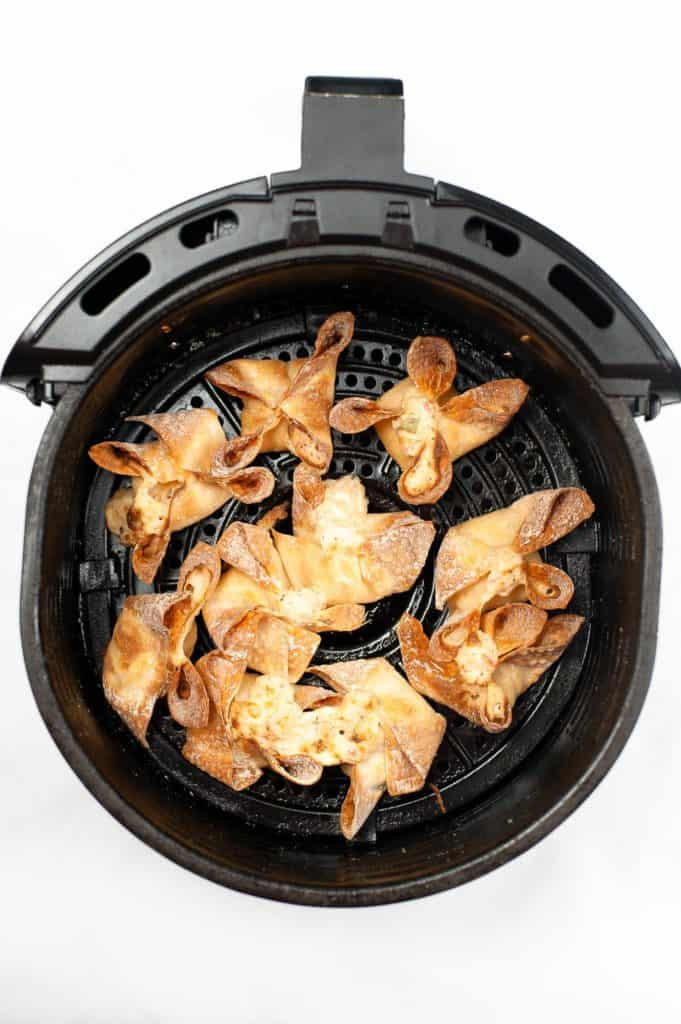 cooked rangoons in air fryer